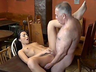 Creamy Pussy Gets Used in Hotel Room