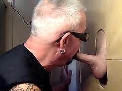 Latino Gloryhole Feed and Fuck