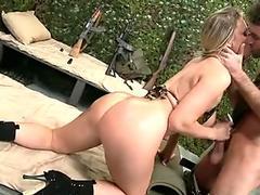 Latina nut booty