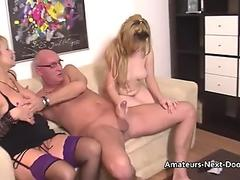 junior jumpy amateurs first-ever threesome