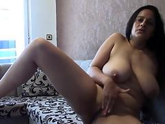 Madelyn Monroe Is Sitting Pretty In Bed Ready for Dick