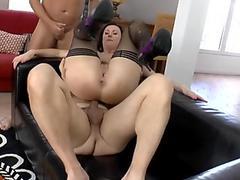 SHE-MALES FUCKING GIRLS BAREBACK SCENE 2