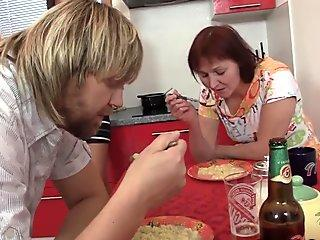 Finding old couple with teen gf