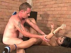 Extreme slave fisting and monster pussy pumping