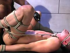 Stud gets bound and anally drilled