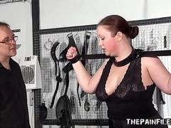 lush eyes covered unexperienced Slave RosieB Whipped