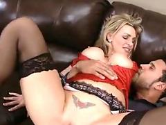Cute GILF Plowed by Young Student