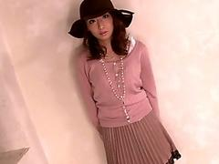 Free Beata hungarian girl in warm outfit