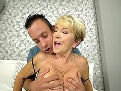 Watch free Busty Japanese girl gets pounded