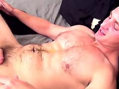Gorgeous classy shemale buttfucked by male