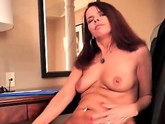 Free Ann Stefani Mature Pornstar Sex In A Restaurant