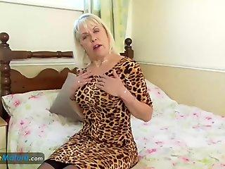EuropeMaturE Lady Sextasy Amazing Solo Footage