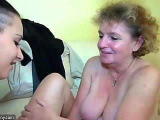 Busty Anita Queen and Bibi Fox having a wild oral threesome with a black dude