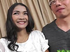 TUKTUKPATROL Shy Asian Creamy Thai Pussy Pounded
