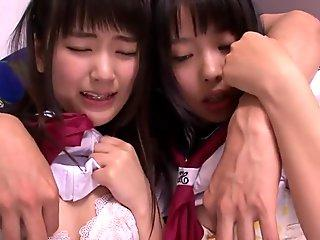 tiny nippon students sucking cock in 3