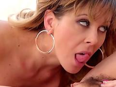 Tranny gets ass eaten and fingered