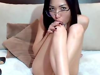 Horny As Fuck Asian Cutie Live On Cam