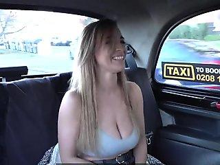Fake Taxi Josephine Jackson and her huge natural boobs