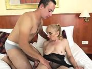 Grannies asshole pounded
