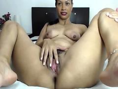 Fully developed Latin Milf Nicole Major Ass Bushy Snatch