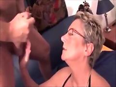 PornSlap - Nikki Delano Licks Cum Off The Floor