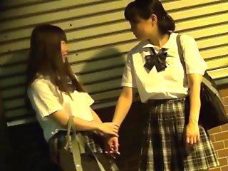 Japanese lesbian teens