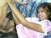 Delightful rectal mancum Dribble In Thailand