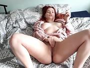 Blonde girl gets fucked by huge bbc