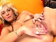 Teen girl drilled and jizzed by fat cock