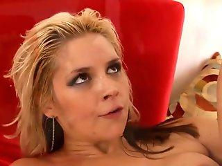 Sensual Sarah Vandella ate out and fucked