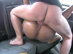 BBW Daphne Spanked and Banged Doggy Style