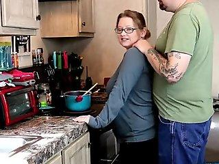 Surprise Sex While Making Dinner