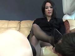 Hot babe undresses and masturbates on webcam