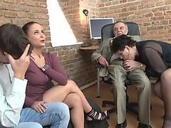 huge-boobed mummy Avy Scott invites him over to smash