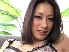 Dazzling scenes of masturbation along Kyoka Ishiguro