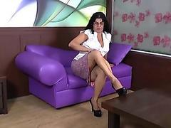 Glam playgirl jugs jizzed