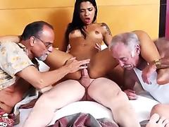 OldNanny granny fucked deeply with huge toy