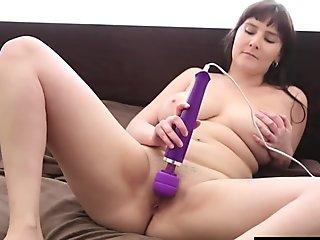 Mistress pegging locked sissy