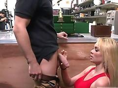 Liv Wylder spreads her legs and takes a cock deep in her tight ass
