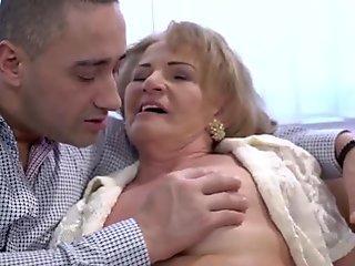 Pussy eaten pensioner