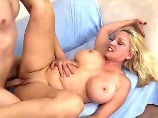 Golden Slut - Gorgeous Grandma Cala Craves Compilation 2