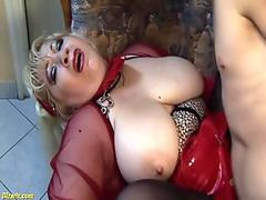 Sweet honey Sunny Lane gets banged from behind by a massive dick