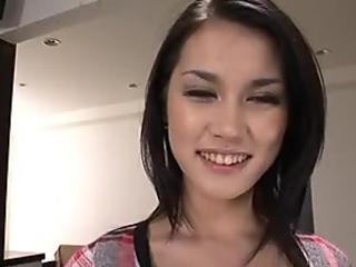 Sensual slut Maria Ozawa sucks three cocks