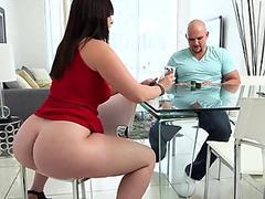 Brandi Blowing Candy Covered Dick Until Cumshot