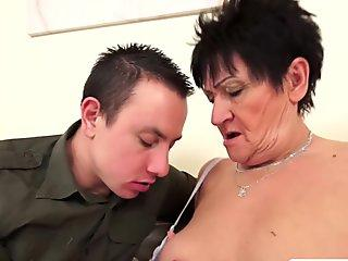 MamacitaZ - Petite Latina Maid Gets a Mouthfull Of CUM During Work