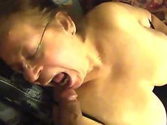 Granny Mexicana BBW has oral sex