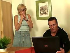 PropertySex - Hot couch surfing babe fucks germaphobe host