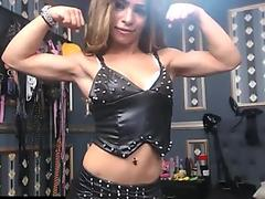 Carved Young lady Bending on Cam - Lady Love