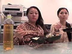 Japan Real mommy and daughter