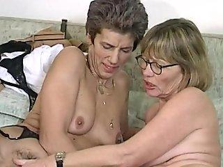 She Pleases Her Stepmom By Inviting A Girl Over